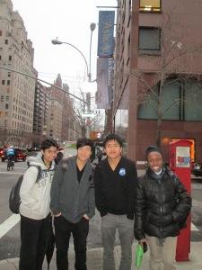 Moheeb Ahmed, Jiaming Lin, Yi Yan and Sequoya Fahie