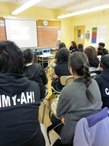 Our students were captivated by what Mr. Rose had to say