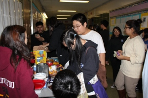 Refreshments were available for purchase from KEY Club