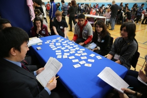 Our students were able to speak in Japanese throughout the day.