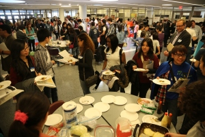 Over 400 high school students in the NY area attended the event.