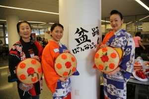 """The event, which means """"Spring Festival,"""" is a day-long Japanese culture event attended by over 400 high school students in the NY area."""