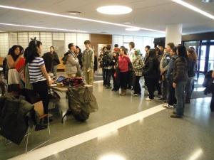 25 students in East-West's Japanese Language Program attended Harumatsuri.