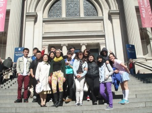 Korean 2 students visit Metropolitan Museum of Art