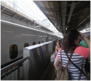 Shinkansen (Japanese Bullet Train)