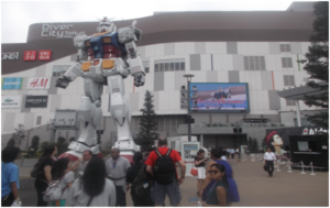 Giant robot. Gundam-style.