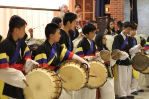 Performance by our 7th Grade Korean Drumming Class