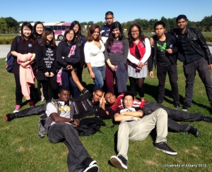 East-West Seniors visit the University of Albany