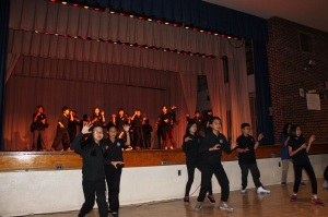 Thriller Flash Mob performed by our middle school students