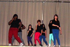 Our K-Pop Club performs for our special guests.