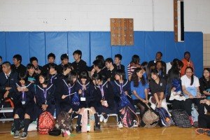 Student Government leads East-West's first Pep Rally