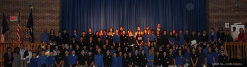 Congratulations to our Middle School Students - 1st Marking Period