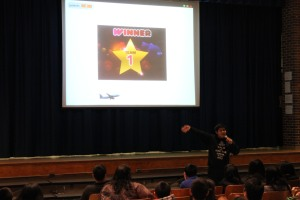 Kevin Vazcones presents Hour of Code at Muster