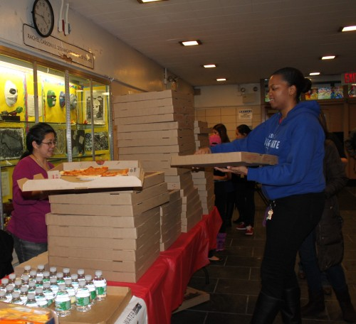 Thank you to our PTA for selling refreshments and PIZZA!