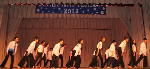 Middle School Class 603 - Japanese Synchronized Marching