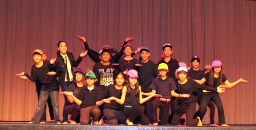 Middle School Class 601 Japanese Synchronized Marching - Hip Hop