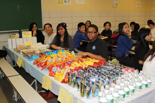 Thank you to all who supported the PTA by purchasing snacks and refreshments.