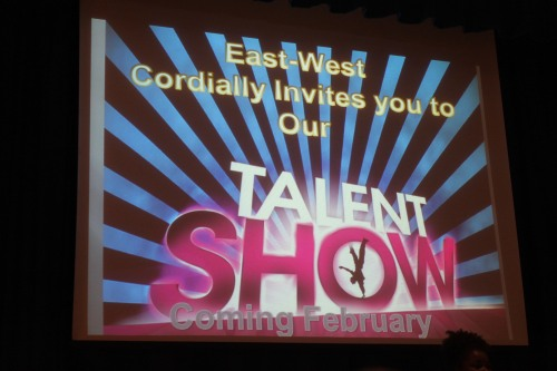 With the wintry mix of snow and sleet this February, our Talent Show was rescheduled to March 6.