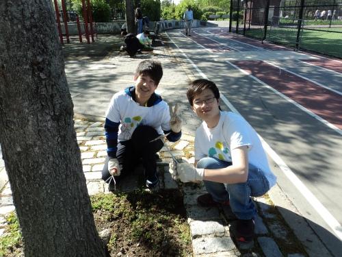 Hanglong and Cheng Rong teaming up
