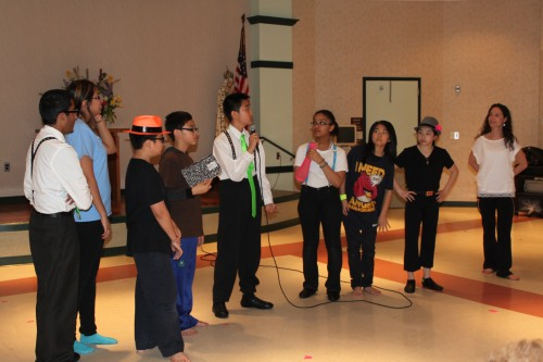 Students also had the opportunity to introduce themselves and share their love of dancing.