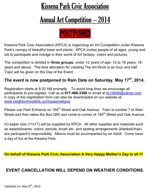 KPAC PRESS RELEASE for Postponed - AAC 2014