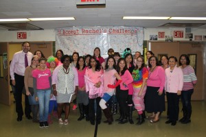 In recognition of Breast Cancer Awareness month, our East-West staff showed their support by wearing PINK.