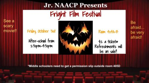 NAACP movie night poster