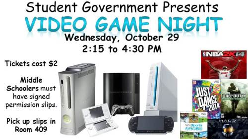 SGVT Video Game Night revised