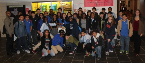 They had the opportunity to explore LIU Brooklyn...