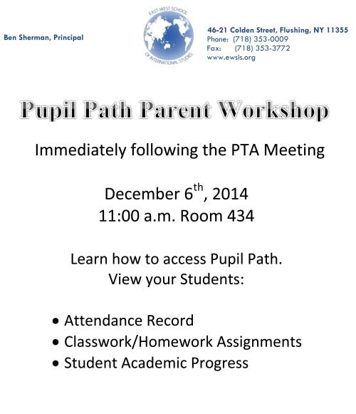 pupil path flyer