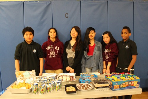 Raising funds for Model UN and Glee Club