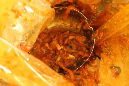 Pickled seafood paste.