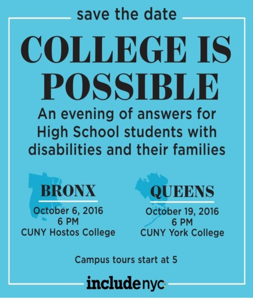 College 4 HS students-disabilities Oct-2016