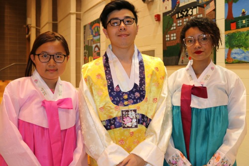 Thank you to our teaching assistants: Ms. Lin, Mr. Shi, and Ms. Waters.