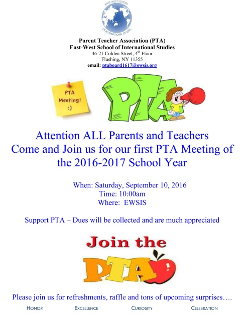PTA FLYER_92016PTA Meeting